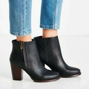 Urban outfitters black ankle boots